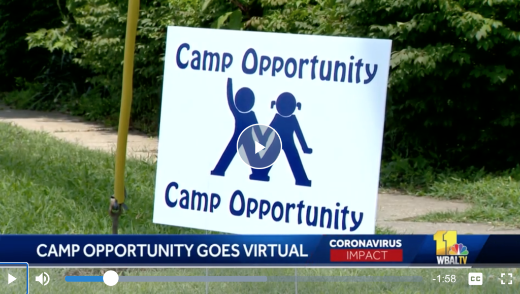 Camp Opportunity Goes Virtual